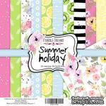 Набор скрапбумаги Summer holiday, 30,5x30,5 см, ТМ Фабрика Декору - ScrapUA.com