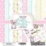 Набор скрапбумаги - Puffy Fluffy Girl, 30,5x30,5 см, ТМ Фабрика Декора - ScrapUA.com