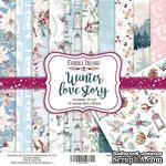 Набор скрапбумаги Winter Love Story, 30,5x30,5 см, TM Fabrika Decoru - ScrapUA.com