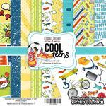 Набор скрапбумаги Cool Teens, 30,5x30,5 см, TM Fabrika Decoru - ScrapUA.com