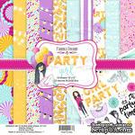 Набор скрапбумаги Party Girl, 30,5x30,5см, Фабрика Декору - ScrapUA.com