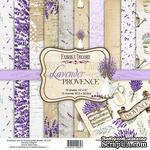 Набор скрапбумаги Lavender Provence 30,5x30,5см, ТМ Фабрика Декору - ScrapUA.com