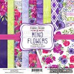 Набор скрапбумаги Mind Flowers 30,5x30,5см, ТМ Фабрика Декору - ScrapUA.com