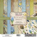 Набор скрапбумаги Botany spring 30,5x30,5см, ТМ Фабрика Декору - ScrapUA.com