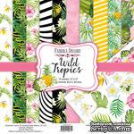 Набор скрапбумаги Wild Tropics 30,5x30,5см, ТМ Фабрика Декору - ScrapUA.com
