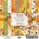 Набор скрапбумаги Botany autumn redesign 30,5x30,5см, ТМ Фабрика Декора - ScrapUA.com