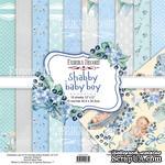 Набор скрапбумаги Shabby baby boy redesign 30,5x30,5см, ТМ Фабрика Декора - ScrapUA.com