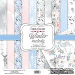 Набор скрапбумаги Winter melody 30,5x30,5см, ТМ Фабрика Декору - ScrapUA.com
