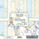 Набор скрапбумаги My little mousy boy 30,5x30,5 см 10 листов, ТМ Фабрика Декору - ScrapUA.com