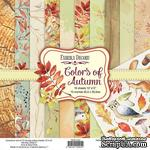 Набор скрапбумаги Colors of Autumn, ТМ Фабрика Декора - ScrapUA.com