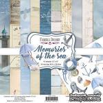 Набор скрапбумаги Memories of the sea 30,5x30,5 см 10 листов, ТМ Фабрика Декора - ScrapUA.com