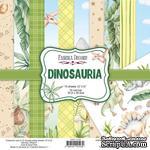 Набор скрапбумаги Dinosauria 30,5x30,5 см 10 листов, ТМ Фабрика Декора - ScrapUA.com