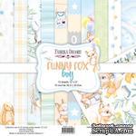 Набор скрапбумаги Funny fox boy 30,5x30,5 см 10 листов, ТМ Фабрика Декора - ScrapUA.com