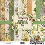 Набор скрапбумаги Summer botanical diary 30,5x30,5 см 10 листов, ТМ Фабрика Декора - ScrapUA.com