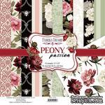 Набор скрапбумаги Peony passion 30,5x30,5 см, ТМ Фабрика Декора - ScrapUA.com