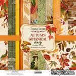 Набор скрапбумаги Autumn botanical diary 30,5x30,5 см 10 листов, ТМ Фабрика Декора. - ScrapUA.com