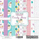 Набор бумаги 20х20 Candy shop, ТМ Фабрика Декору - ScrapUA.com