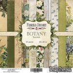 Набор бумаги 20х20 Botany summer, ТМ Фабрика Декору - ScrapUA.com