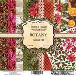 Набор бумаги 20Х20 Botany winter, ТМ Фабрика Декору - ScrapUA.com