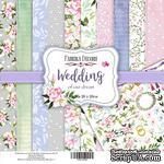 Набор скрапбумаги Wedding of our dream, 20x20см, Фабрика Декора - ScrapUA.com