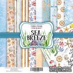 Набор скрапбумаги Sea Breeze, 20x20см, Фабрика Декора - ScrapUA.com
