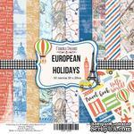 Набор скрапбумаги European Holidays, 20x20см, Фабрика Декору - ScrapUA.com