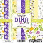 Набор скрапбумаги - Dino baby, 20x20 см, Фабрика Декора - ScrapUA.com