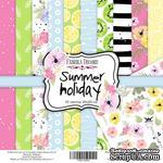 Набор скрапбумаги Summer holiday, 20x20 см, ТМ Фабрика Декору - ScrapUA.com