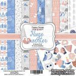 Набор скрапбумаги - Huge Winter, 20x20 см, ТМ Фабрика Декора - ScrapUA.com