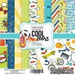 Набор скрапбумаги Cool Teens, 20x20 см, TM Fabrika Decoru - ScrapUA.com
