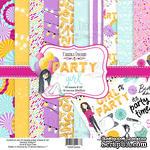 Набор скрапбумаги Party Girl, 20x20 см, Фабрика Декору - ScrapUA.com
