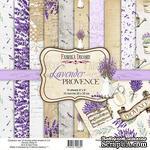 Набор скрапбумаги Lavender Provence 20x20см, ТМ Фабрика Декору - ScrapUA.com