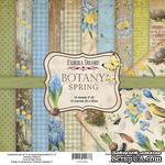 Набор скрапбумаги Botany Spring 20x20см, ТМ Фабрика Декору - ScrapUA.com
