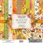 Набор скрапбумаги Botany autumn redesign 20x20см, ТМ Фабрика Декора - ScrapUA.com