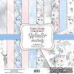 Набор скрапбумаги Winter melody 20x20см, ТМ Фабрика Декору - ScrapUA.com