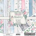 Набор скрапбумаги Shabby love 20x20 см, ТМ Фабрика Декора - ScrapUA.com