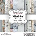 Набор скрапбумаги - Shabby texture, 30,5x30,5 см, ТМ Фабрика Декора - ScrapUA.com