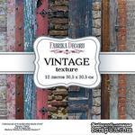 Набор скрапбумаги - Vintage texture, 30,5x30,5 см, ТМ Фабрика Декора - ScrapUA.com