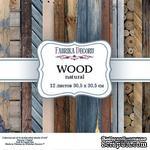 Набор скрапбумаги - Wood natural, 30,5x30,5 см, ТМ Фабрика Декора - ScrapUA.com