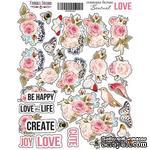 Набор наклеек Sensual Love, ТМ Фабрика Декора - ScrapUA.com