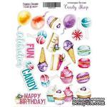 Набор наклеек Candy shop, ТМ Фабрика Декора - ScrapUA.com