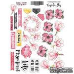 Набор наклеек Magnolia Sky, ТМ Фабрика Декора - ScrapUA.com