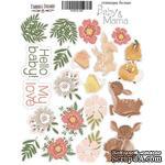 Набор наклеек (стикеров) 039 - Baby&Mama, ТМ Фабрика Декора - ScrapUA.com