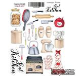 Набор наклеек (стикеров) 045 - Soul Kitchen-2, ТМ Фабрика Декора - ScrapUA.com