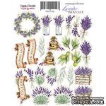 Набор наклеек (стикеров) #056, Lavender Provence, ТМ Фабрика Декору - ScrapUA.com