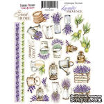 Набор наклеек (стикеров) #057, Lavender Provence-1, ТМ Фабрика Декору - ScrapUA.com