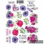 Набор наклеек (стикеров) #059, Mind Flowers-1, ТМ Фабрика Декору - ScrapUA.com