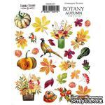 Набор наклеек (стикеров) 071 Botany autumn redesign, ТМ Фабрика Декора - ScrapUA.com