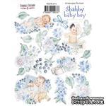 Набор наклеек (стикеров) 073 Shabby baby boy redesign 1, ТМ Фабрика Декора - ScrapUA.com