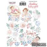 Набор наклеек (стикеров) 074 Shabby baby girl redesign, ТМ Фабрика Декора - ScrapUA.com